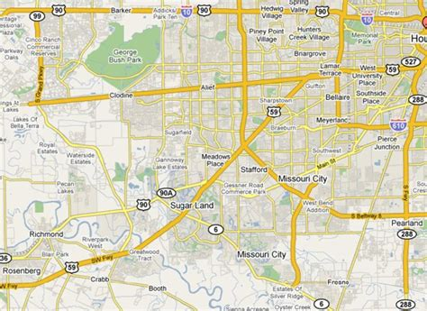 southwest texas map rodeo houston map