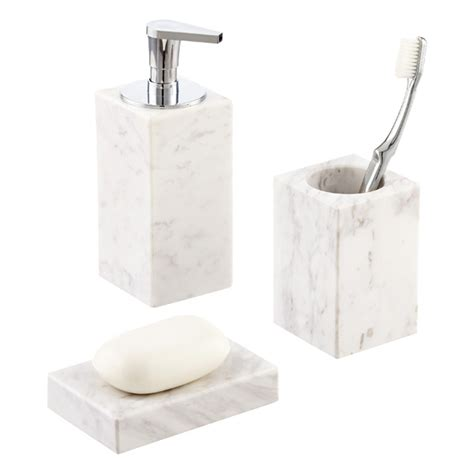 countertop width white marble countertop bathroom set the container store
