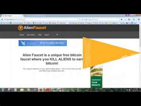 Highest Paying Bitcoin Faucet by Bitcoin Aliens Highest Paying Top Bitcoin Faucet