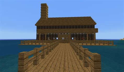 Blueprints For Tiny Houses water house minecraft project