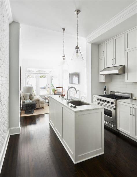 the kitchen that henrybuilt narrow kitchen modern kitchen long narrow console kitchen contemporary with island
