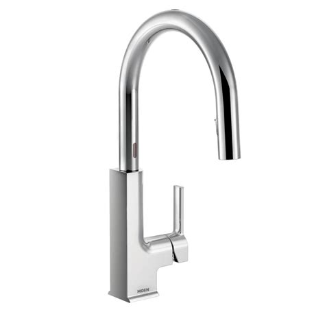 Moen Motionsense Kitchen Faucets Moen Sto Single Handle Pull Standard Kitchen Faucet With Motionsense Reviews Wayfair Ca