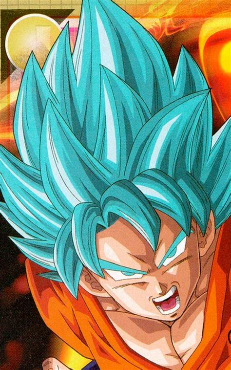 imagenes de goku pelo azul la nueva transformacion de goku en dbz la resurrecion de