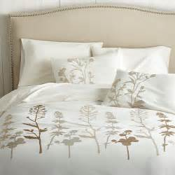 King Size Duvet Covers Crate And Barrel Woodland King Duvet Cover Crate And Barrel