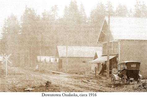 Onalaska Post Office by Lcgs History Pictures