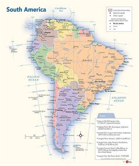 political map of south america south america political wall map maps