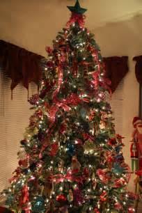 sock monkey whimsical christmas tree christmas trees