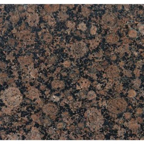 Granite Tiles Home Depot ms international baltic brown 12 in x 12 in polished granite floor and wall tile 10 sq ft