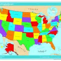 the color of us maps united states map color