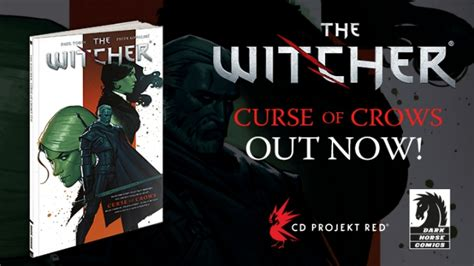 the witcher volume 3 curse of crows the witcher volume 3 curse of crows out now cd projekt