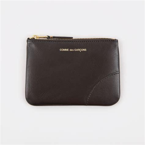 Comme De Garcons Knot Handbag Wallets by Comme Des Garcons Wallet Classic Leather Sa8100 Black