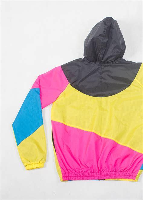 black pink yellow yellow pink black hood windbreaker ilovenoname com