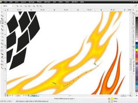 The Secret Of Coreldraw Madcoms secrets of coreldraw brush designs pt 4 how to