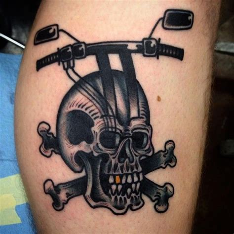 outlaw biker tattoos 50 fearless outlaw biker designs for