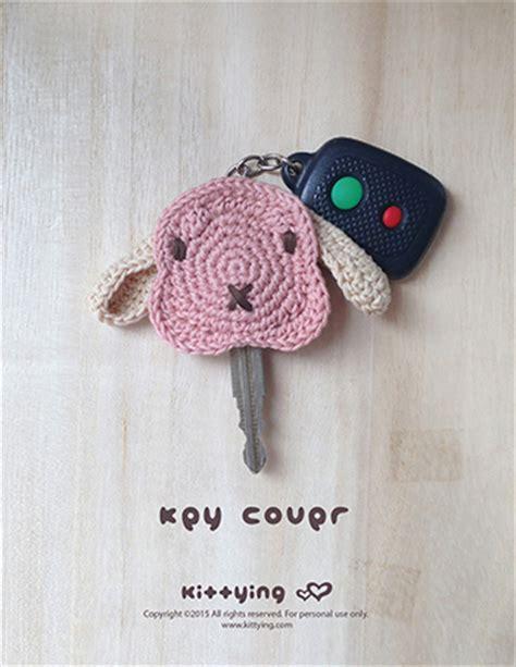 pattern crochet key cover bunny key cover crochet pattern rabbit lop crochet