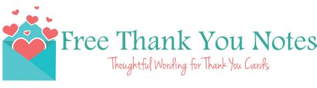 volunteer thank you note samples thank you card wording