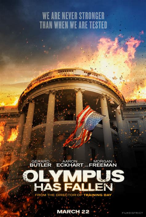 olympus has fallen film classification first trailer and poster for olympus has fallen starring