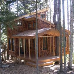 How To Build A Small Home Tiny House In The Trees 350 Sq Ft Of Bliss Tiny House