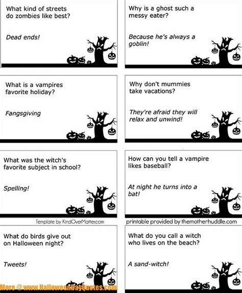 printable halloween knock knock jokes 17 best images about halloween wishes quotes on pinterest