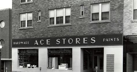 ace hardware central park minot memories business 1960 s