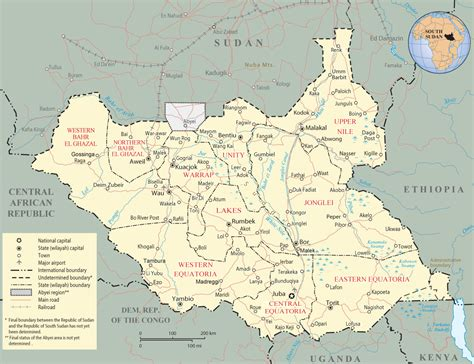 south sudan map south sudan ration increases school attendance eastern equatoria