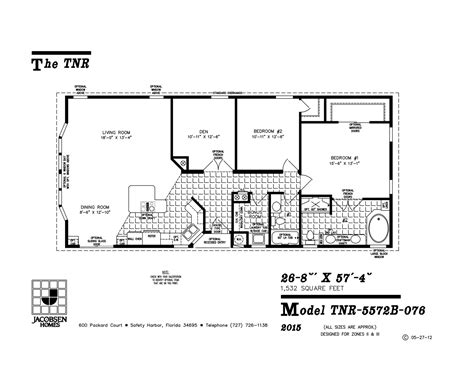 imlt 46412b mobile home floor plan ocala custom homes tnr 5572b 076 mobile home floor plan ocala custom homes