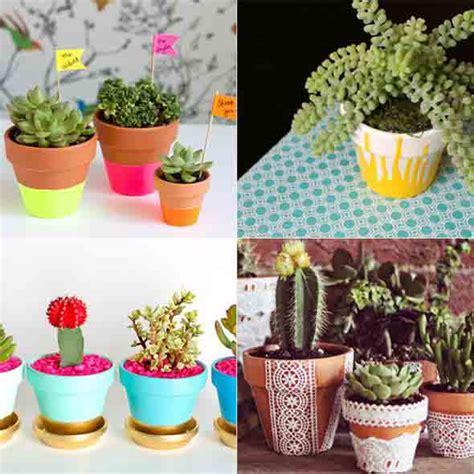 fazer plantas vasos decorados artesanato veja dicas para fazer em casa mercadoetc