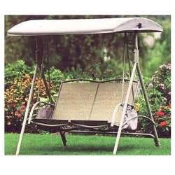 Patio Swing Canopy Replacement by Garden Treasures 2 Person Sling Swing Replacement Canopy