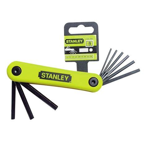 Murah Stanley 69 262 Hex Key Set 7 Pcs Folding stanley malaysia tools equipment distributor