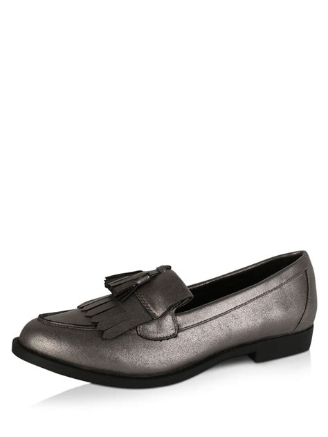 loafers new look buy new look chunky tassel loafers for s
