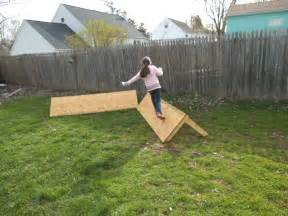 Homemade obstacle course for pinterest