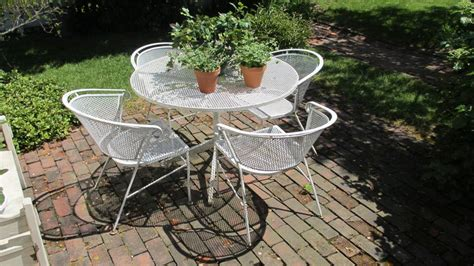 rod iron outdoor furniture repairing wrought iron patio furniture