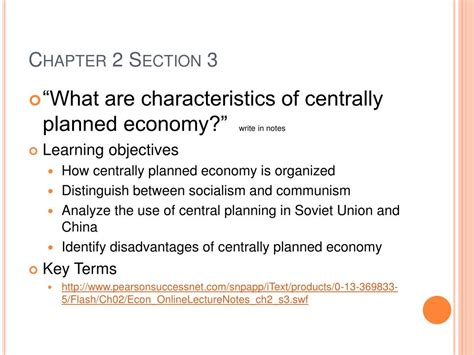economics chapter 2 section 3 ppt ch 2 economic systems powerpoint presentation id