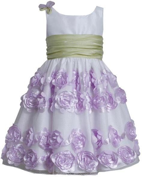 Bonnie Jean - bonnie jean lavender crinkle sash dress sale 4 6