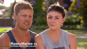 house renovation tv shows australia house rules marlee murphy moves out of the home she renovated with ryan rebbeck