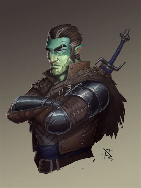 fjord critical role spoilers c2e1 travis new character by stevesketches