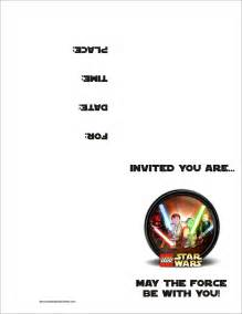 wars templates wars invitations template best template collection