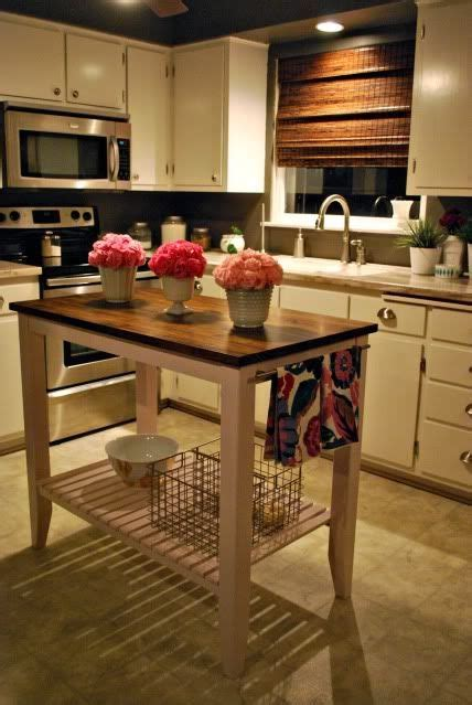 island table for small kitchen best 25 small kitchen islands ideas on small