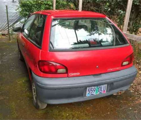 geo metro 1996, still runs and drives, but barely blown