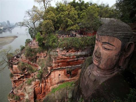 30 Square Meters Leshan Giant Buddha Sichuan China