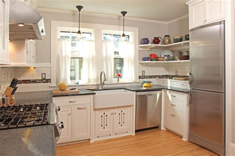 houzz small kitchen ideas 100 square foot kitchen remodel craftsman kitchen