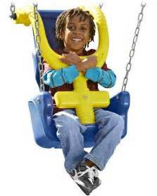 swings for special needs children the g force swing seat is adaptive playground equipment