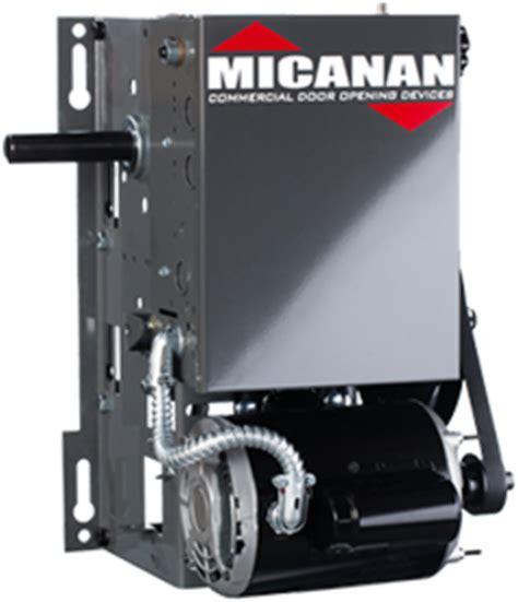 micanan pro  commercial industrial heavy duty garage door