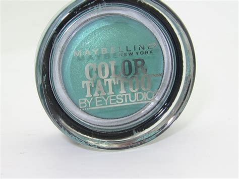 24 hour tattoo maybelline color 24 hour eyeshadows review