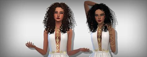 sims 4 black people hair my sims 4 blog black girl curls hair clayified in 18