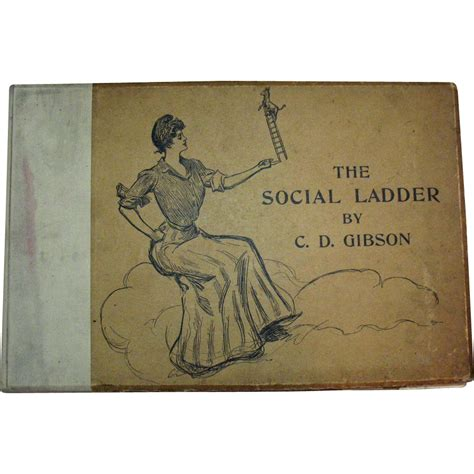 C D Gibson Sketches And by Antique Book The Social Ladder By C D Gibson 1902