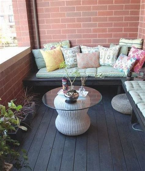 balcony bench 17 best privacy on apartment balconies images on pinterest