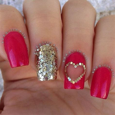 cute valentines day nail art designs stayglam