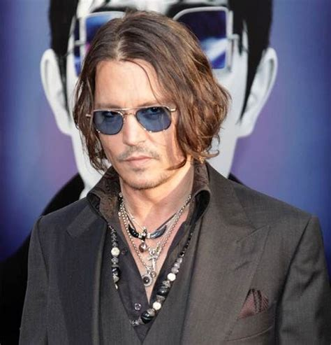 male celebrity jewelry male celebs wearing jewelry johnny depp stands out
