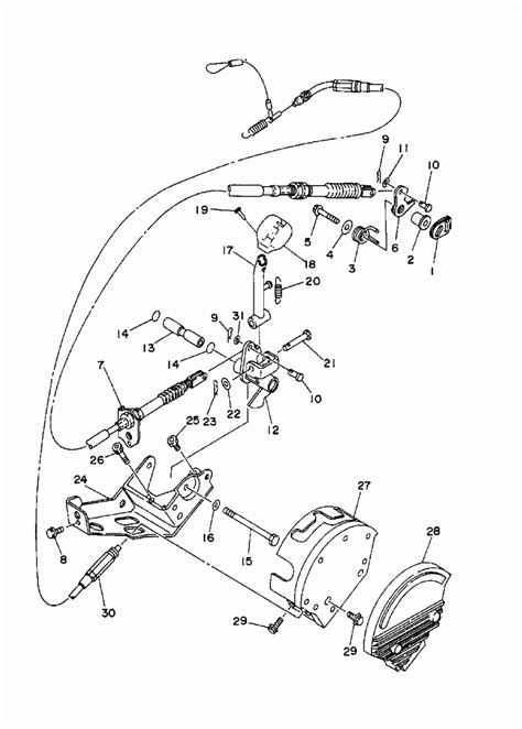 yamaha kodiak parts diagram periodic diagrams science